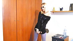 Sasha Blond, Blonde, Dance, Glasses, Posing, Russian