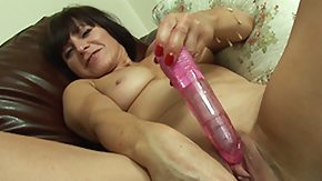 Xmas, Brunette, Dildo, European, Masturbation, Mature