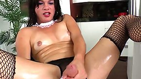 HD Shemale Cumshots Sex Tube Shemale tranny bore tool cumshot