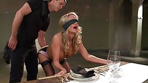 Toy, Blindfolded, Blonde, Mature, MILF, Stockings