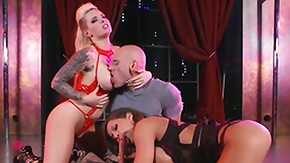 Christy Mack, 3some, Babe, Ball Licking, Big Ass, Big Natural Tits