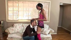 Free Unique Murcielago HD porn videos Skinny brunette shemale Unique Murcielago 'tween short flirtatious skirt tattooed sir Wolf Hudson with fantastic oral skills paint the town red sucking each other 'tween living
