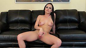 Katie St. Ives, Brunette, Masturbation, Solo