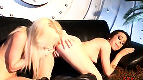 Shaking To Orgasm, Blonde, Legs, Lesbian, Lesbian Toys, Lingerie