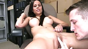 Spreading, Babe, Big Tits, Blowjob, Boobs, Brunette