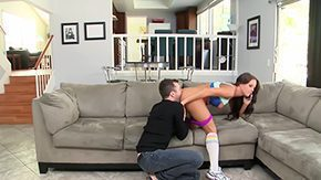 Rahyndee James, American, Brunette, Dildo, High Definition, Natural
