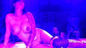 Club Strip, Blowjob, Club, Dance, Outdoor, Reality