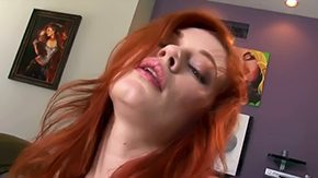 HD Justine Joli tube Little one pale redhead babe Justine Joli with green boobies scorching body teases pleasures her self in close up in steamy living room