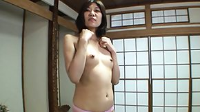 HD Japanese Strip tube Cute Japanese milf Yoko strips off her kilt and exposes the inviting curves of her body