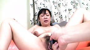 HD Fat Asian tube Overweight oriental slut gets dildoed a bit before that babe deep-throats her someone