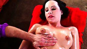 Female Ejaculation, Babe, Brunette, Female Ejaculation, Massage, Masseuse