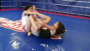Amanda Moore, Babe, Brunette, Club, Dance, Fight