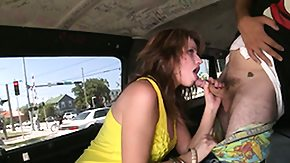 Bang Bus, Amateur, Babe, Blonde, Blowbang, Blowjob