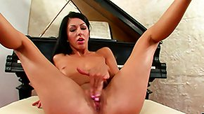 Piano, Babe, Brunette, Masturbation, Piano, Posing