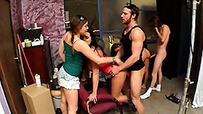 Bangbros, 3some, Backroom, Backstage, Behind The Scenes, Brunette