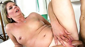 Old Woman, Ass, Blowjob, Brunette, Doggystyle, Hardcore