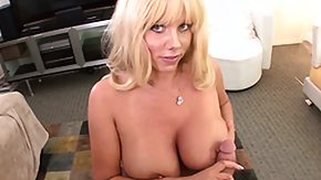 Karen Fisher, Big Cock, Big Tits, Blonde, Blowjob, Boobs