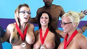 Nikki Sexx, Blonde, Blowjob, Brunette, Cumshot, Hardcore
