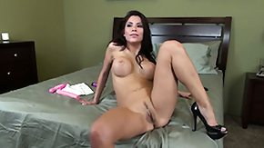 Aleksa Nicole, Bed, Big Tits, Boobs, Brunette, Masturbation