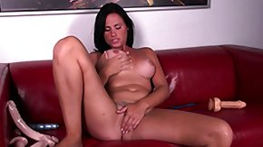 Free Ashli Ames HD porn Sexually bizzare brunette Ashli Ames vibrates toys more than that then fingers her twat