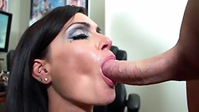 Cum Covered, Babe, Big Tits, Blowjob, Boobs, Brunette