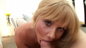On Her Knee, Blonde, Blowjob, Mature, MILF, On Her Knees