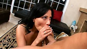 On Her Knees, Blowjob, Brunette, Cumshot, On Her Knees, Sucking