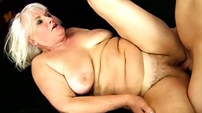 Grandmother, Big Pussy, Big Tits, Blonde, Blowjob, Boobs