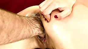 HD Hairy Arms tube Brunette Betty gets his hairy arm planted deep into her wet cunt