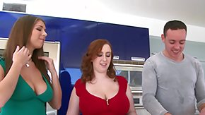 Cleavage, 3some, BBW, Beauty, Best Friend, Big Cock
