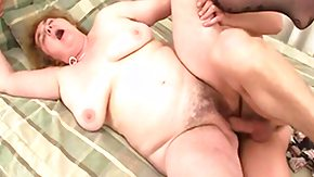 Granny, Blonde, Experienced, Fat, Fingering, Fucking
