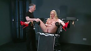 Whipping, BDSM, Blonde, Female Ejaculation, Maledom, Squirt